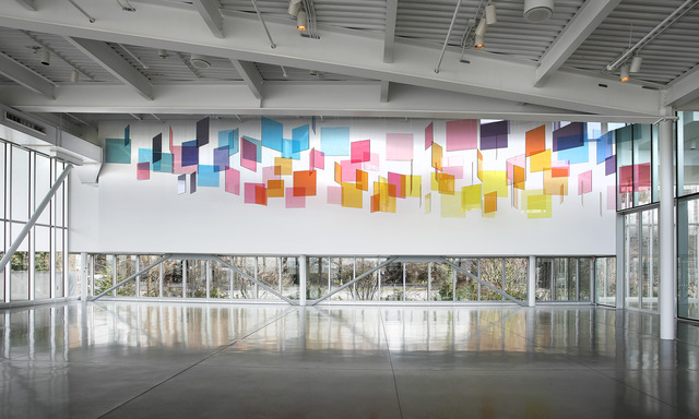 , 'Installation view of Spencer Finch: The Western Mystery at the Olympic Sculpture Park.,' , Seattle Art Museum