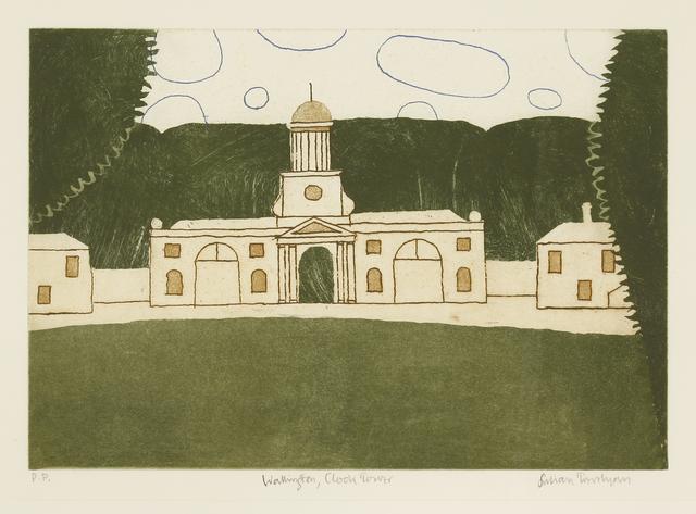 Julian Trevelyan, 'Wallington, Clock Tower (Turner 317)', 1975, Sworders