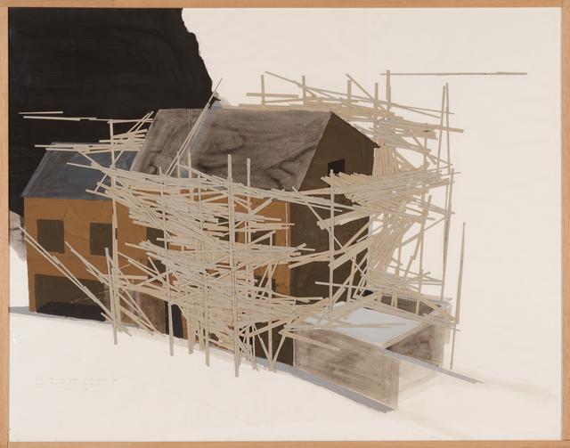 , 'La Maison des Squatters, Grenoble Plan F-3,' 1987, Misa Shin Gallery