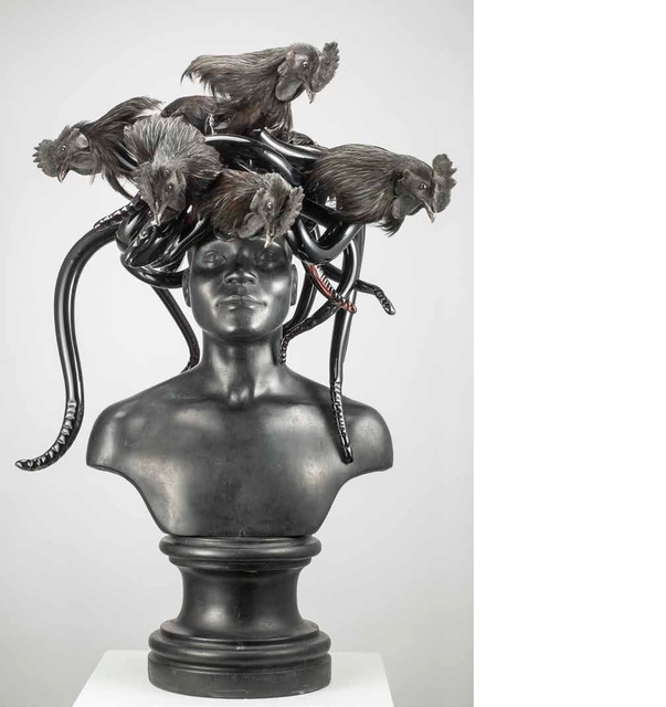 , 'Black Medusa,' 2015, Boca Raton Museum of Art
