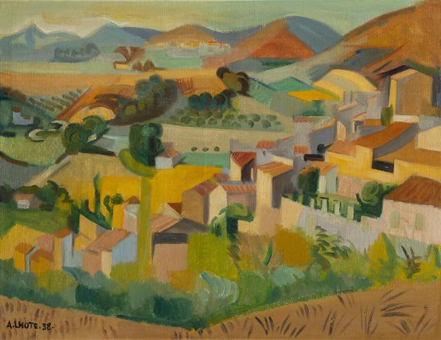 André Lhote, 'Paysage de Mirmande', 1938, HELENE BAILLY GALLERY