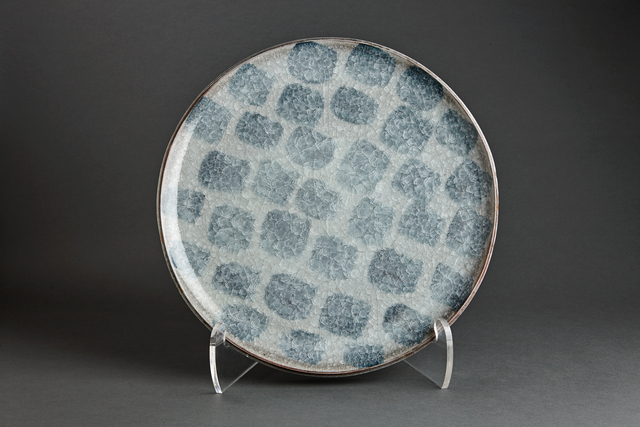 , 'Plate, chalk and feldspar glaze with engobe brushwork,' , Pucker Gallery