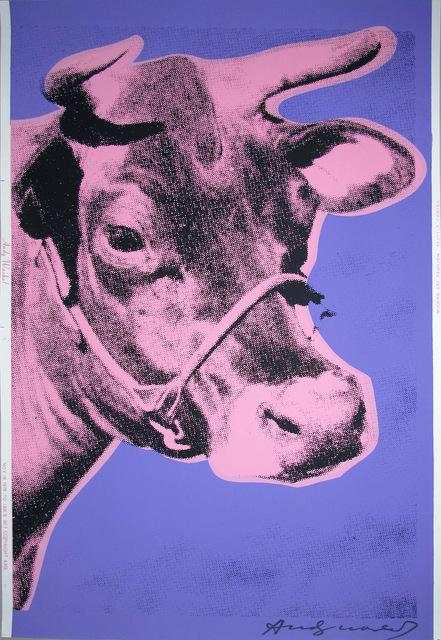 , 'Cow, II.12A,' 1976, Hamilton-Selway Fine Art