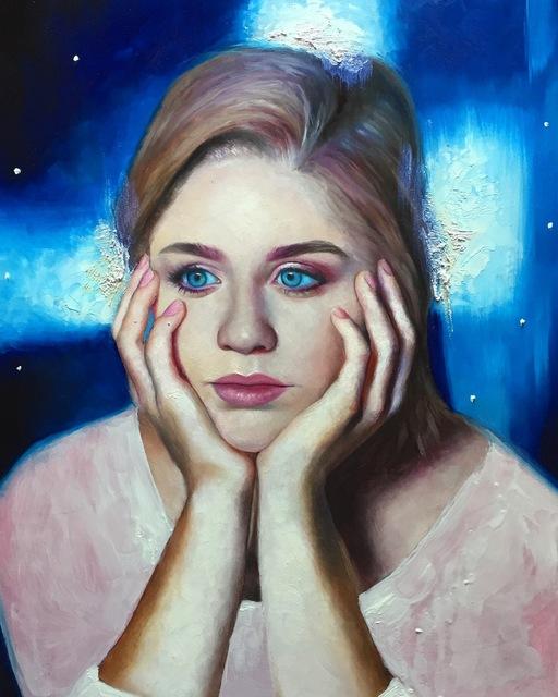 , 'Anna,' , Abend Gallery