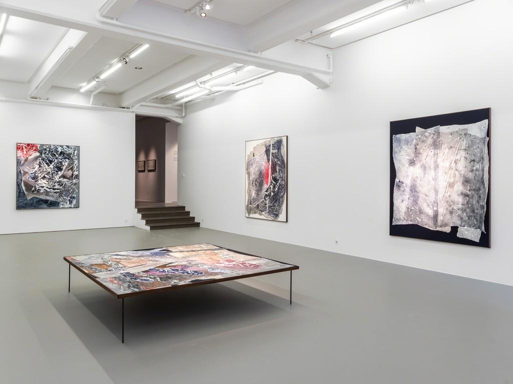 Sigrid Sandström, Dry Maars, 2019, installation view. Photo: Jean-Baptiste Béranger