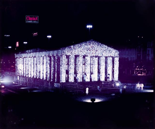 , 'El Partenón de Libros,' 1983, Henrique Faria | Buenos Aires