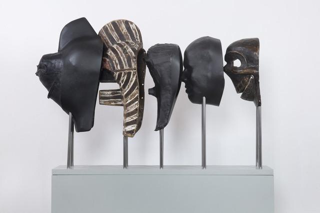 , 'The void sticks on us,' 2014, Galleria Raffaella Cortese