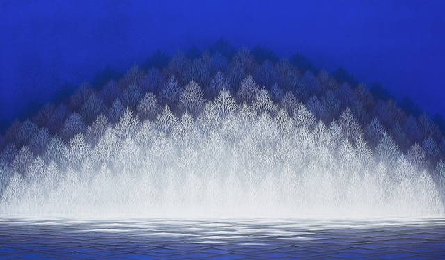, 'Sokoku (The Blue Hour),' 2019, SEIZAN Gallery