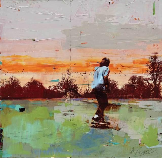 , 'Park Skater,' 2017, Adam Gallery