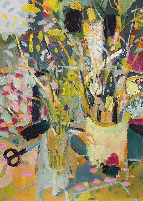 , 'Cutting Wild Flowers,' 2017, Candida Stevens Gallery