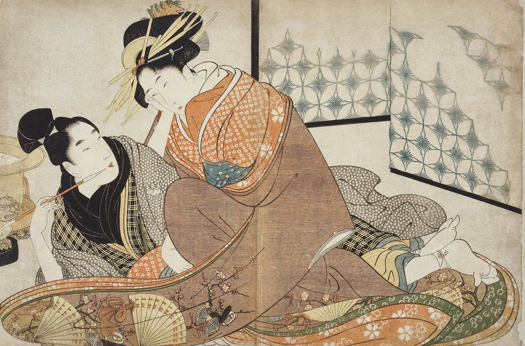 SHUNGA: Erotic Art from Japan. ""