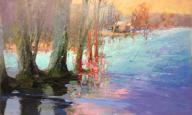 Andy Braitman, 'Sunset Riverside', 2019, Shain Gallery