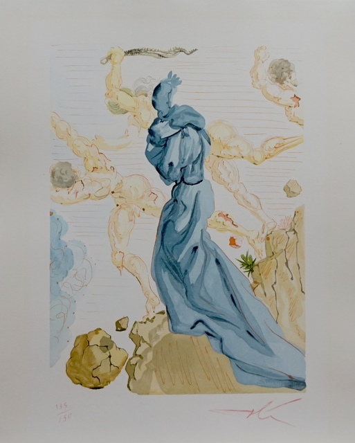 Salvador Dalí, 'Divine Comedy Hell Canto 19', ca. 1963, Fine Art Acquisitions