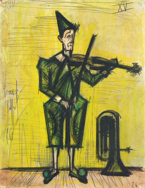 , 'Le Cirque, le clown musicien,' 1966, Opera Gallery