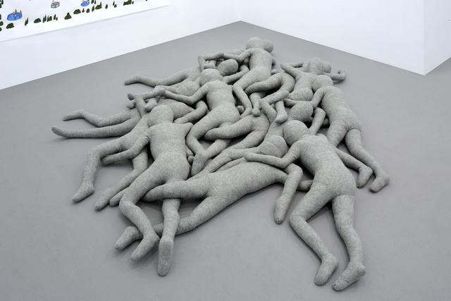 , 'Asymmetry Rug (grey),' 2017, Yve YANG GALLERY