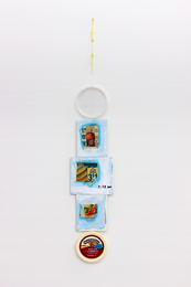 Untitled (vertical food collage #8)
