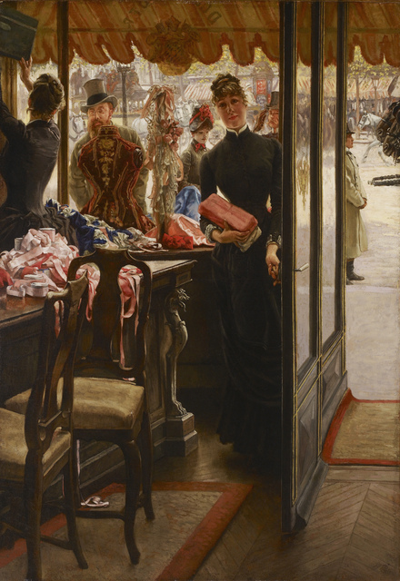 , 'The Shop Girl,' 1883-1885, Legion of Honor