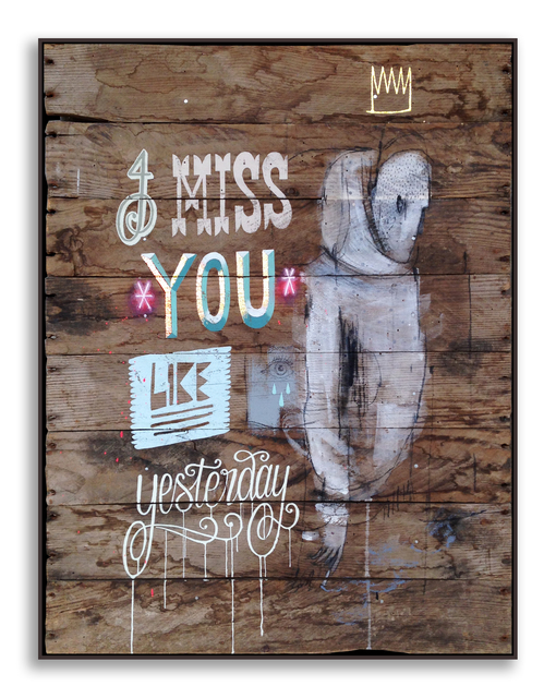 , 'Miss You Like Yesterday,' 2014, StolenSpace Gallery