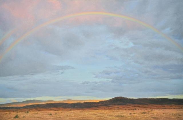 Willard Dixon, 'Santa Fe Arch - Double Rainbow', 2012, Andra Norris Gallery