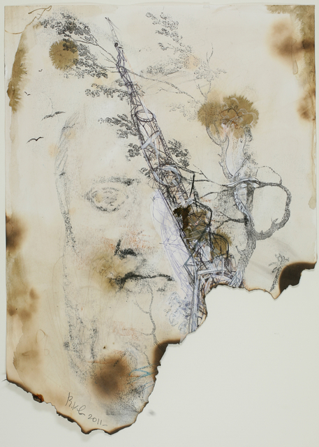 , 'Phiosof with Tower,' 2011, Galerie Krinzinger