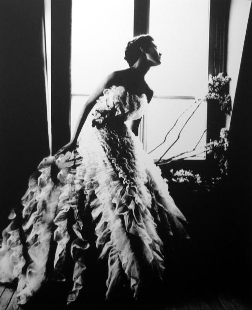 Lillian Bassman, 'Fantasy on the dance floor, Barbara Mullen, Paris', 1949, Photography, Gelatin silver print, Peter Fetterman Gallery