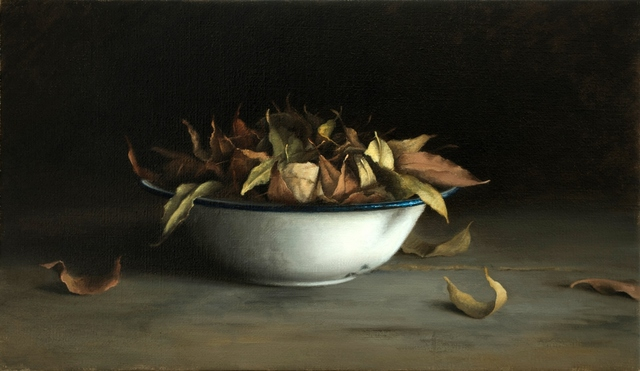 , 'Bowl with Leaves,' 2016, Zemack Contemporary Art