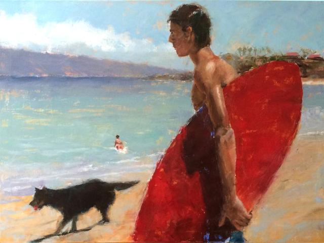 , 'Surf Dog,' , Beverly McNeil Gallery