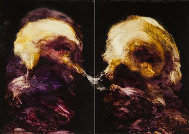 , 'Sans Titre (diptych),' 2013, 10 Hanover