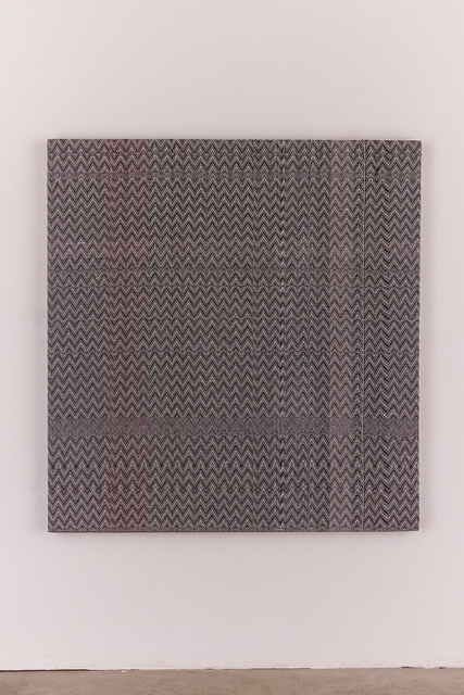 , 'c(13) and White(14) 8/4 Cotton 15 EPI and Painted Warp #4,,' 2014, LUNDGREN GALLERY