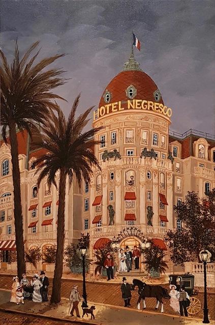 , 'Soirée d'été à Nice,'  , Hugo Galerie