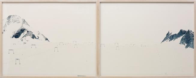 Walter Niedermayr, 'Kitzsteinhorn II,' 1997, Phillips: New Now (December 2016)
