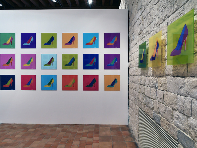 , 'Louboutin Series,' 2017, Cynthia Corbett Gallery