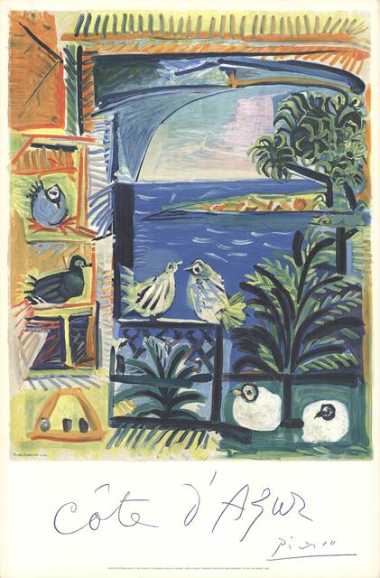Pablo Picasso, 'Cote D'Azur', 1968, ArtWise