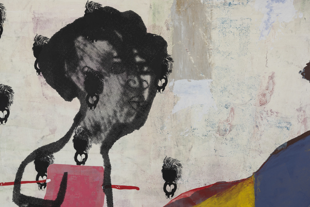"""Virginia Chihota, 'Awuya Wuya Mwana! """"Welcome welcome Child!""""', 2017, Drawing, Collage or other Work on Paper, Serigraph on Archival Cotton Paper, Tiwani Contemporary"""