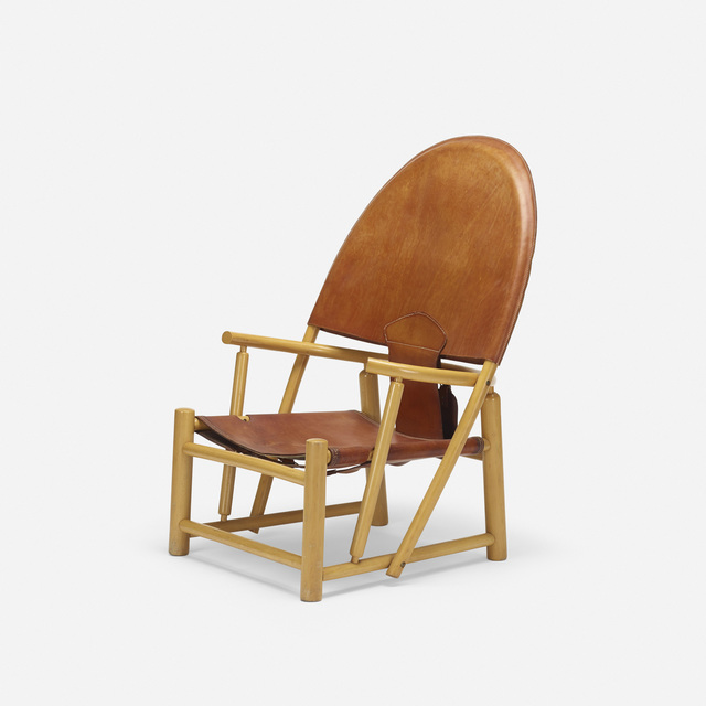 Werther Toffoloni, 'Hoop lounge chair', c. 1972, Wright