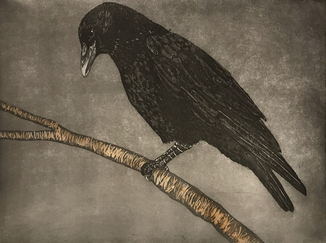 , 'Crow,' 2018, Wally Workman Gallery