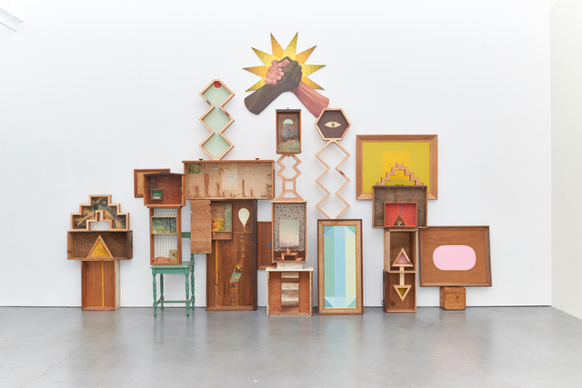 , 'Cabinet Installation,' 2018, Eleanor Harwood Gallery