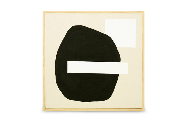 Ethan Caflisch, 'Marina at Sunset', 2017, Painting, Acrylic paint on raw canvas in pine and brass brad frame, Tappan