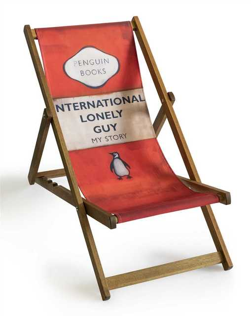 Harland Miller, 'International Lonely Guy (Deck Chair)', 2013, Tate Ward Auctions