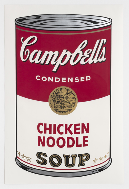 Andy Warhol, 'Chicken Noodle, from Campbell's Soup I', 1968, Leslie Sacks Gallery