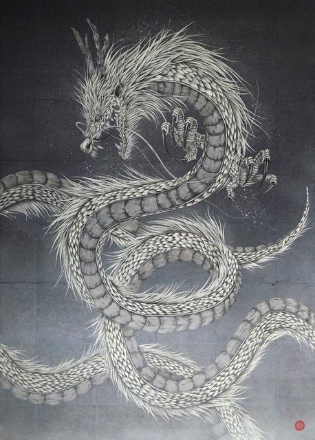 , 'White Gold Dragon ,' 2018, SEIZAN Gallery