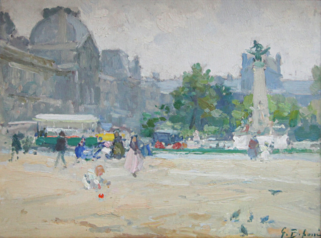 Gennaro Befanio, 'Vue du Louvre', 1866, Taylor | Graham