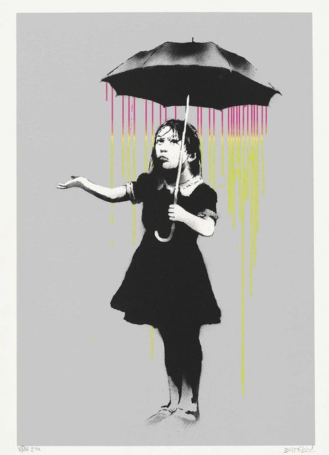 Banksy, 'NOLA (Pink and Yellow Rain)', 2008, Christie's
