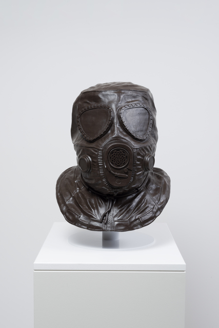 , 'Gas Mask,' 2016, L.A. Louver
