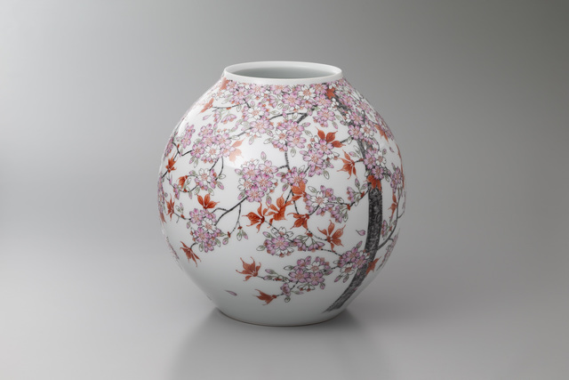 , 'Cherry Blossoms and Red Leaves,' 2018, Onishi Gallery