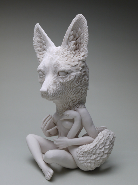 , 'Leda and the Swan: Sierra Nevada Red Fox,' 2019, Haven Gallery