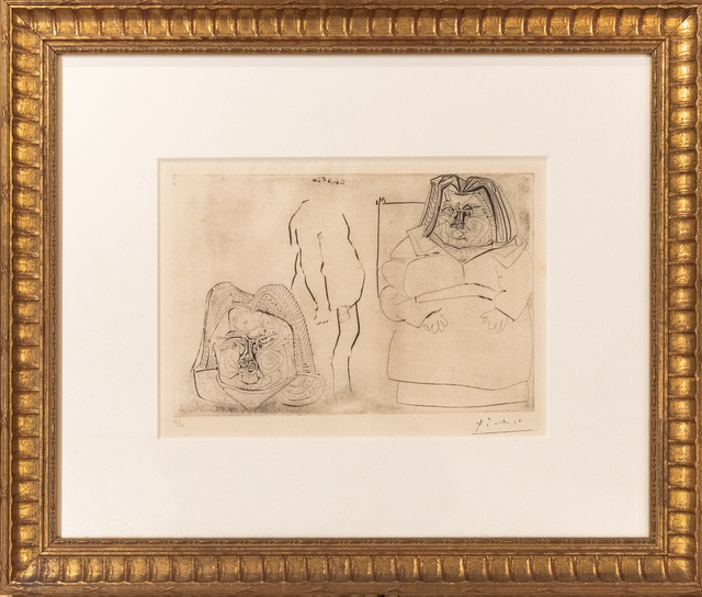 , 'Framed Etching On Paper ,' 1971, HG Contemporary