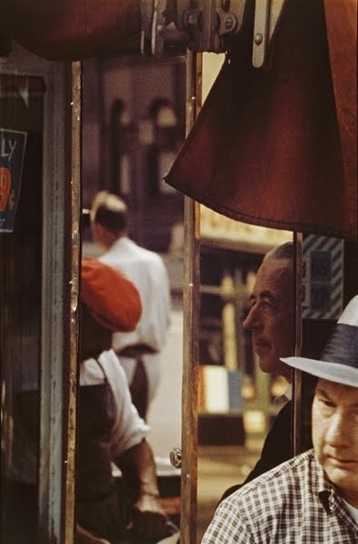 Saul Leiter, 'Reflection', 1958, Photography, Chromogenic print, printed later, GALLERY FIFTY ONE