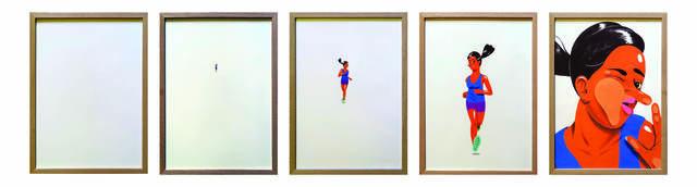 , 'The Runner,' 2017, V1 Gallery