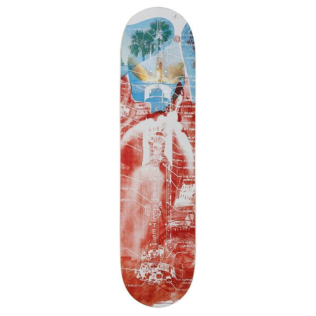 Robert Rauschenberg, 'Sky Garden Skateboard Deck', 2017, Sculpture, 7-ply Canadian Maplewood with screen-print, Artware Editions